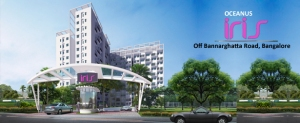 2BHK & 3BHK Apartments for sale on Bannerghatta Road, Bangalore at Oceanus Iris.