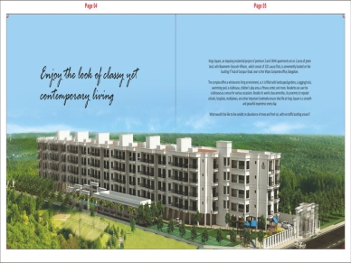 2BHK & 3BHK Apartments for sale off Sarjapur Road, Bangalore at Kings Square.